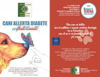 Cani Allerta Diabete - COL FIUTO TI AIUTO: proposta di Service Nazionale 2020-2021 al 68° Congresso MD 108