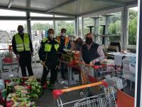 Solidarietà ai tempi del Coronavirus: donata e consegnata spesa alle famiglie